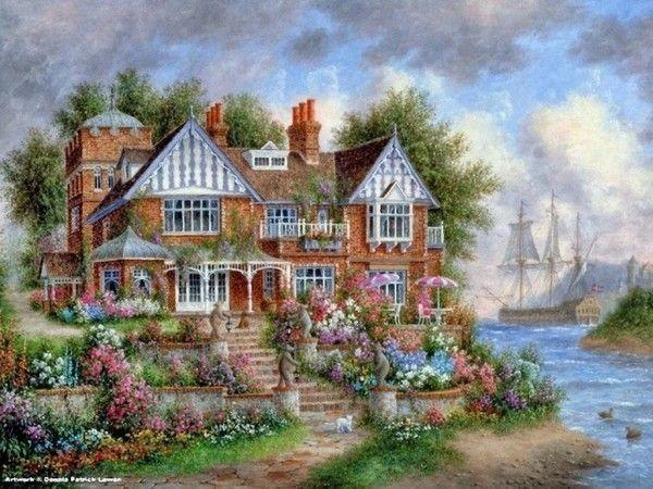 images de maisons et jardins fleuris page 2. Black Bedroom Furniture Sets. Home Design Ideas
